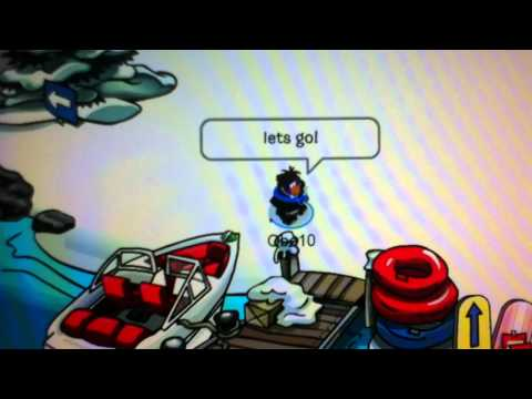 Club Penguin-how to get the camera pin