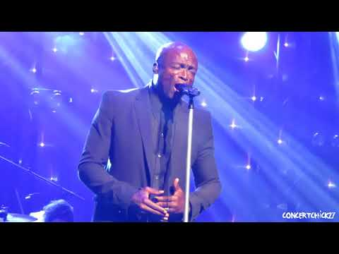 SEAL - ANYONE WHO KNOWS WHAT LOVE IS (WILL UNDERSTAND) @ BEACON THEATRE NYC 6-26-18