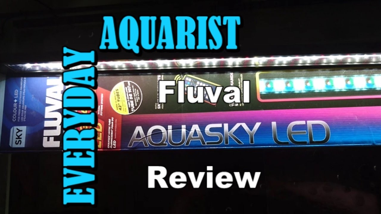 Led Fluval Aquarium Light Aquasky