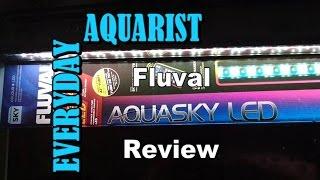 fluval aquasky aquarium led light review