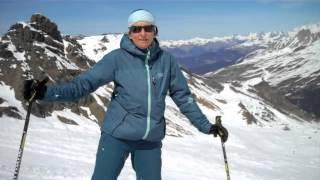 Skiing In Slush