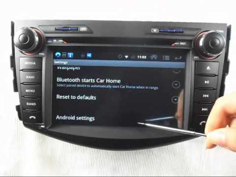 Toyota Rav4 Android Car Dvd Player Gps Navigation Wifi 3g Internet