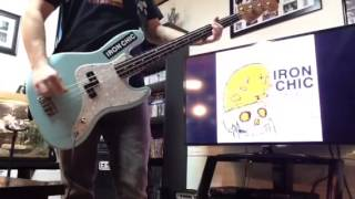 Cutesy Monster Man - Iron Chic (Bass Cover)