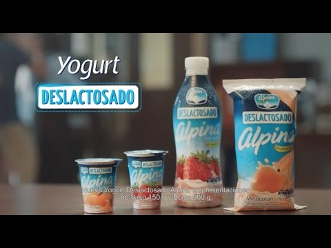 Nuevo Yogurt Alpina Deslactosado   Alpina Colombia
