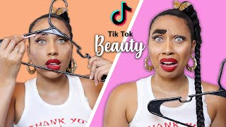 Testing Viral Tik Tok Beauty Hacks (BAD IDEA)