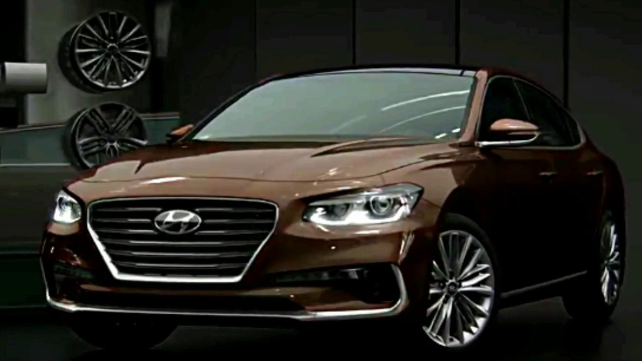 Hyundai Azera 2018 >> All New Hyundai Azera 2018 Photos Slide Youtube