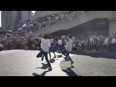 BOY STORY OMG BUSKING In Chengdu - Special Unit Dance (Left Side View)