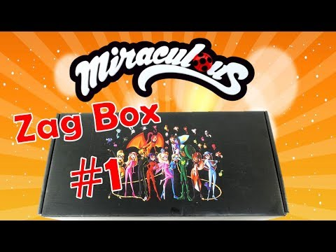 Is It WORTH It? Miraculous Ladybug Toys Zag Box Subscription #1