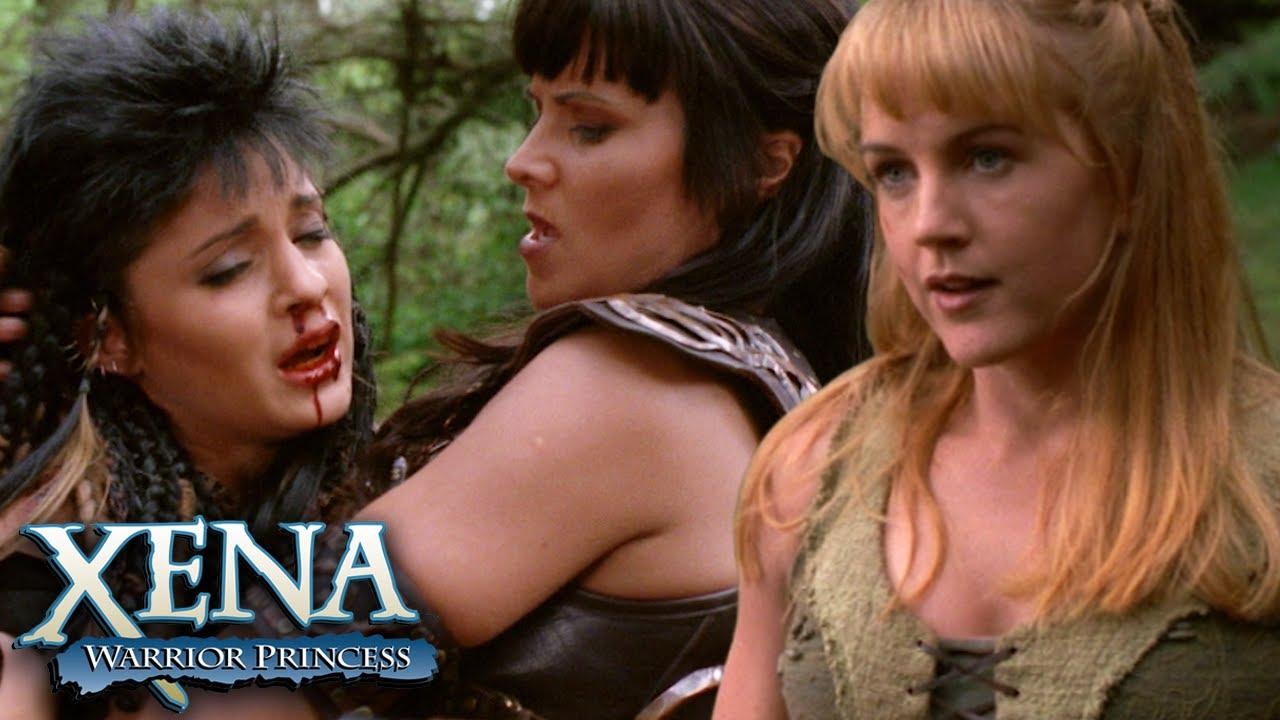 Download Gabrielle vs Tara   Xena: Warrior Princess