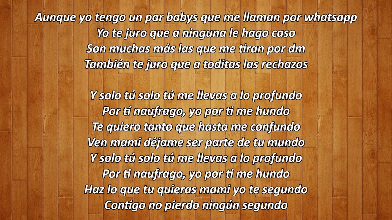 Yo Te Quiero Ozuna Ft. Arcangel LETRA - YouTube