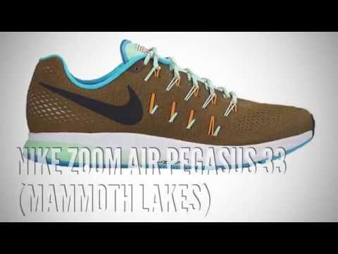 low priced 0768a deb17 NIKE ZOOM AIR PEGASUS 33 (MAMMOTH LAKES)  SNEAKERS T - YouTube