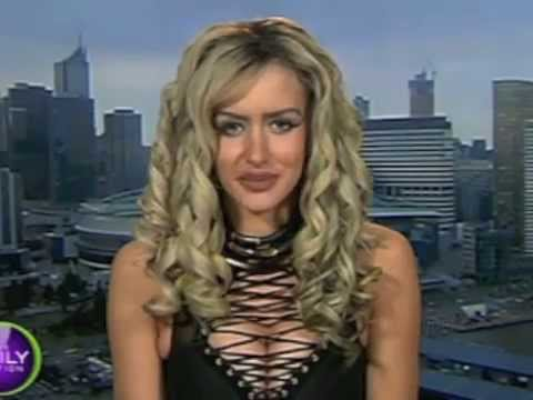 Gabi Grecko interview girlfriend of Dr Geoffrey Edelsten, DJ, Mens Mag Model