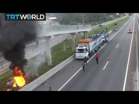 Brazil Truck Strike: President authorises army to clear highways