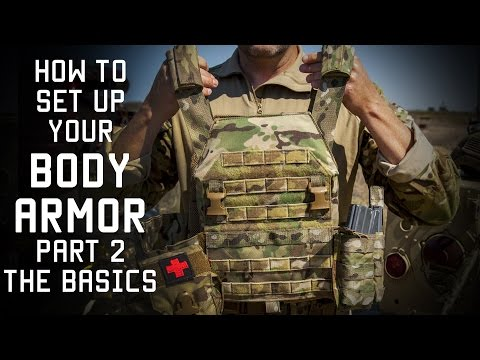 How to set up your Body Armor Part 2 | THE BASICS | Tactical Rifleman