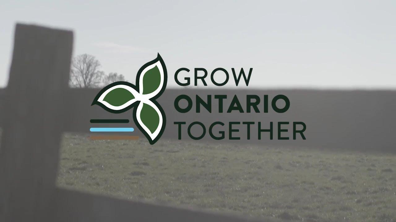Grow Ontario Together