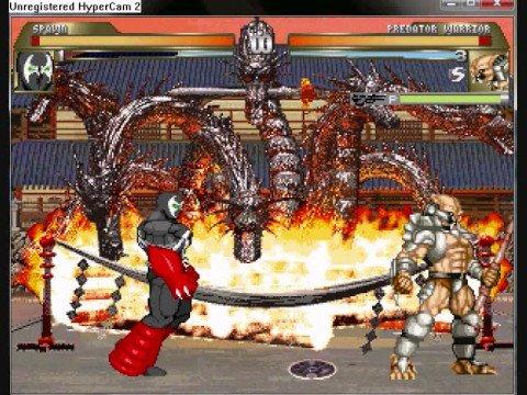 M.U.G.E.N Watch Battle 3: Spawn vs Predator Warrior - YouTube