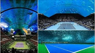 Dubai will now have an underwater tennis court