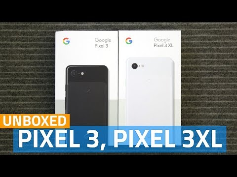 Google Pixel 3, Pixel 3 XL Unboxing and First Look