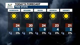 Weather forecast | 19 May 2020
