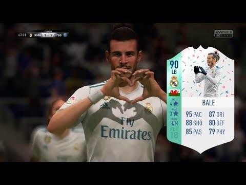 LEFT BACK GARETH BALE FUT BIRTHDAY CARD REVIEW - IS HE WORTH IT? - FIFA 18 ULTIMATE TEAM
