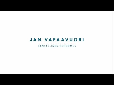Jan Vapaavuori - Kokoomus on valtavan hieno kansanliike