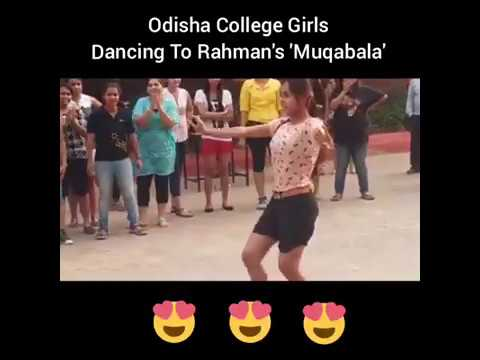 Muqabla song girls dance Prabhu Deva