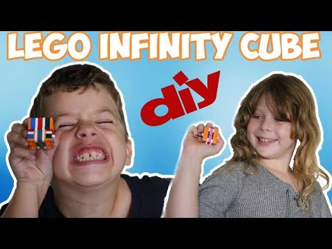 DIY INFINITY CUBE - HOW TO MAKE A LEGO INFINITY CUBE! EASY TUTORIAL FOR KIDS!!!!