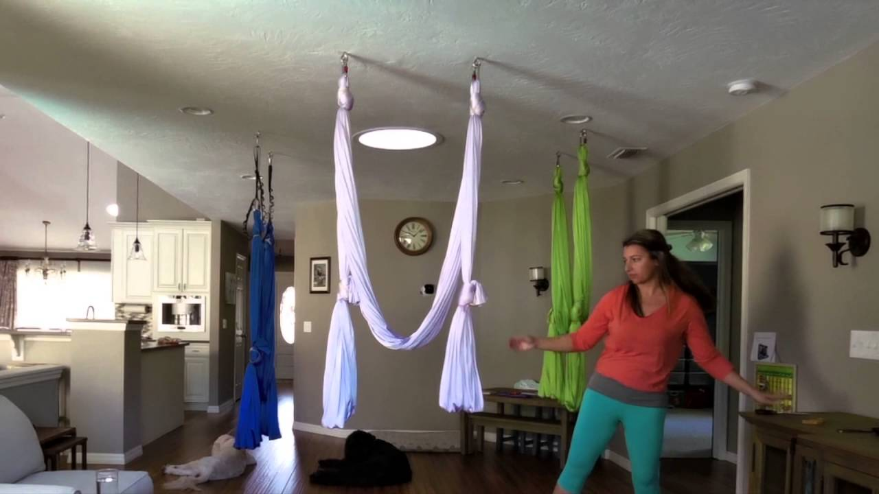 Medium image of aerial yoga hammock maintenance