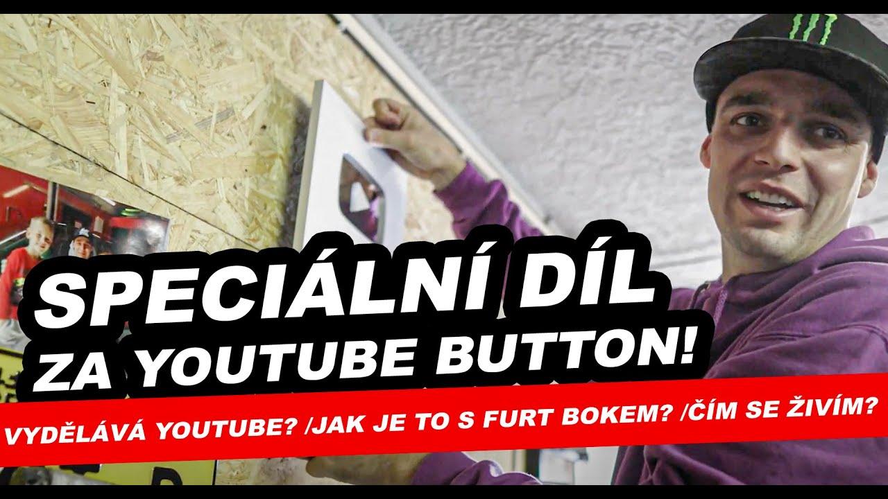 Speciální díl za YouTube button a 100.000 odběratelů | (Poděkování / Čím se živím? Vydělává YT?)