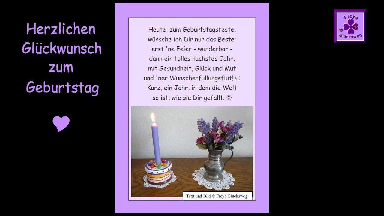 Geburtstagsspruche Fur Gluckwunsche Zum Geburtstag