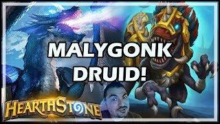 MALYGONK DRUID! - Rastakhan's Rumble Hearthstone