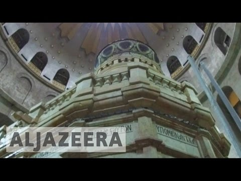 Jesus tomb in Jerusalem reopens after renovation