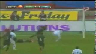 mexico vs italia 2 1 3 de mayo del 2010 todos los goles