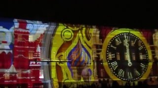 Лазерное шоу на Дворцовой площади Санкт-Петербург