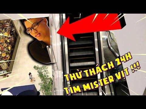 THỬ THÁCH 24 GIỜ ĐI TÌM MISTER VỊT * Huy Noob Vlog #2