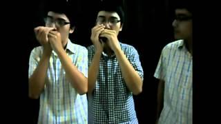 Lucky - Jason Mraz - Harmonica Duet