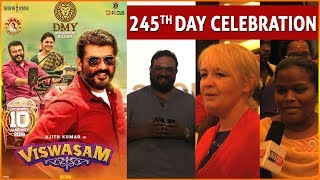 Viswasam Movie 245th Day Celebration | Public Review |  Inandout Cinema