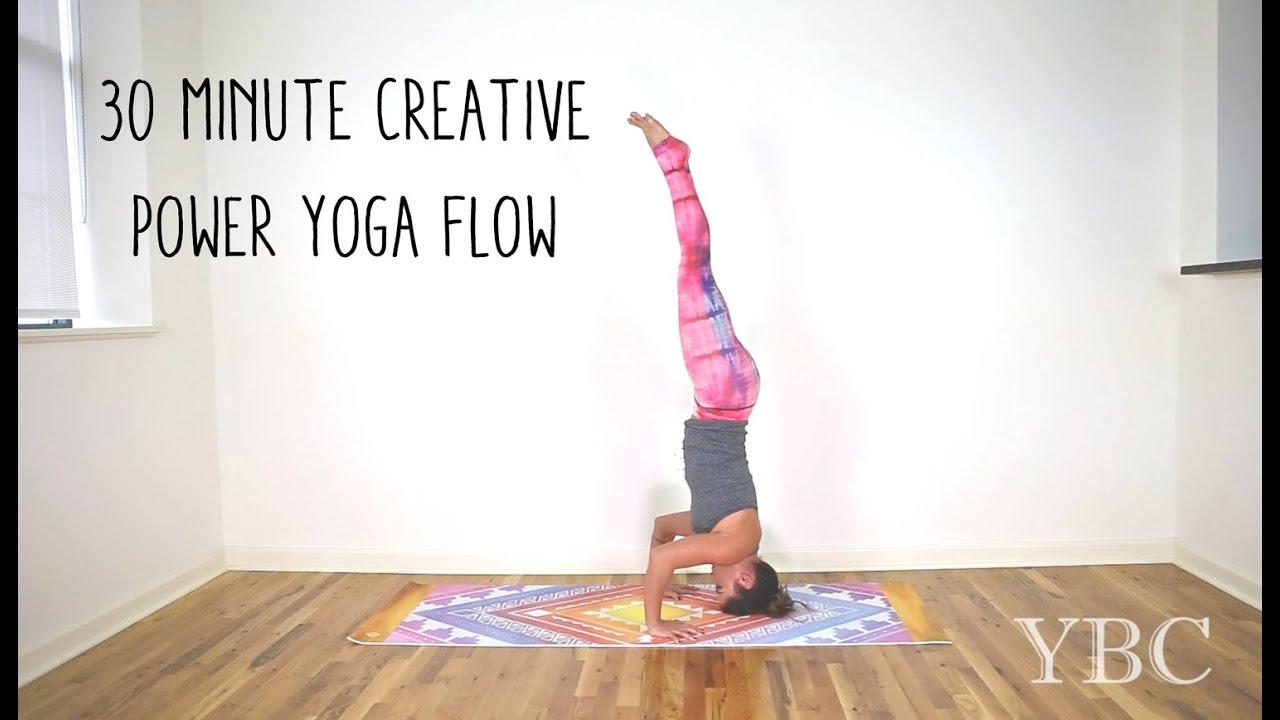 30 Minute Creative Power Yoga Flow - YouTube