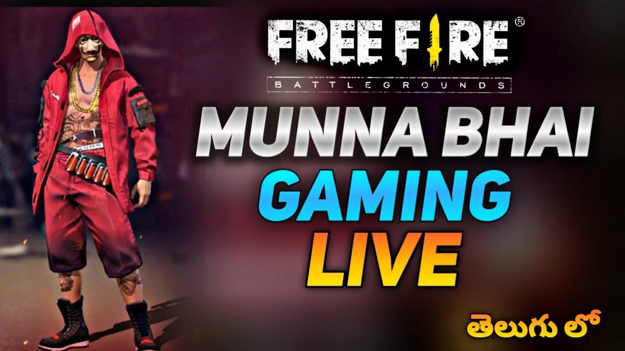 Free Fire Live  - Road to 700k  - Free Fire Telugu - Free Fire Live Telugu