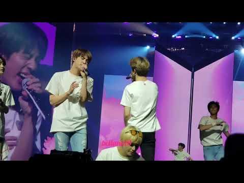 180928 Love Myself - BTS 'Love Yourself' Tour Newark Day 1