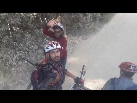 Cycling From Kathmandu To Dhulikhel Height
