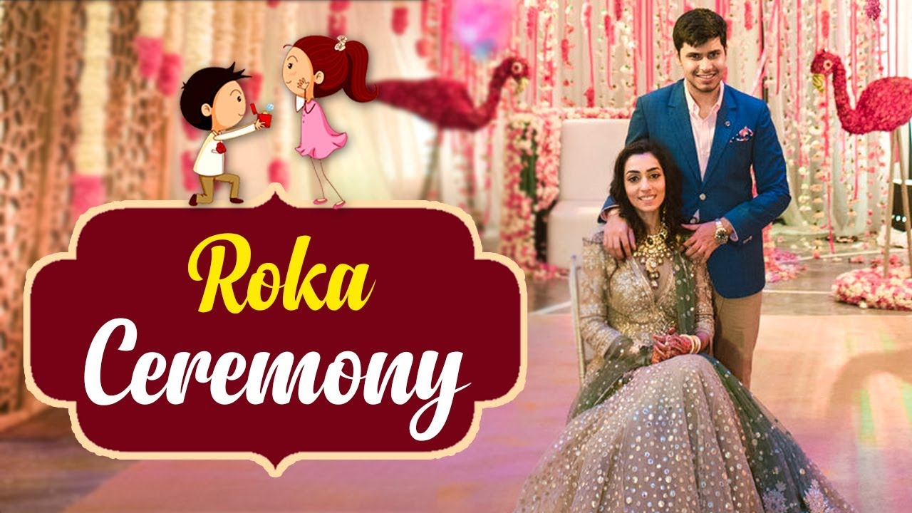 Roka Ceremony Invitation For Whatsapp (creativevideos ...