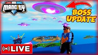 🛸 *INVASION UPDATE* IST ONLINE! - MAD CITY ROBLOX