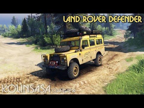Land Rover Defender Camel Trophy Siberia