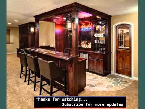 Home Bar Design Ideas Pictures Home Bars YouTube Extraordinary Basement Bar Design Ideas Creative