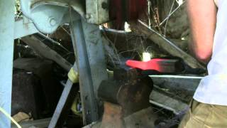 Forging a Stump Anvil Part 1