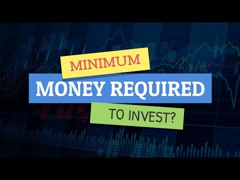 What is the minimum money required to start Investing in Indian Stock Market?
