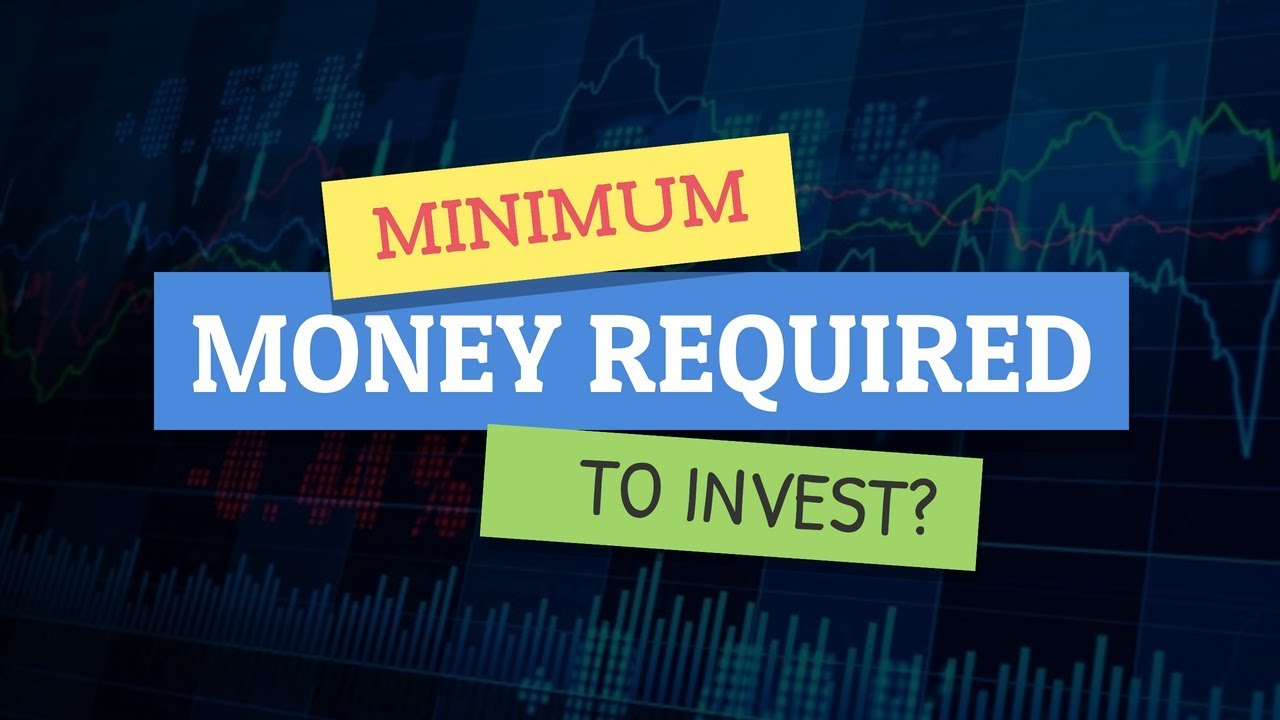 What is the minimum money required to start Investing in Indian Stock Market? - YouTube