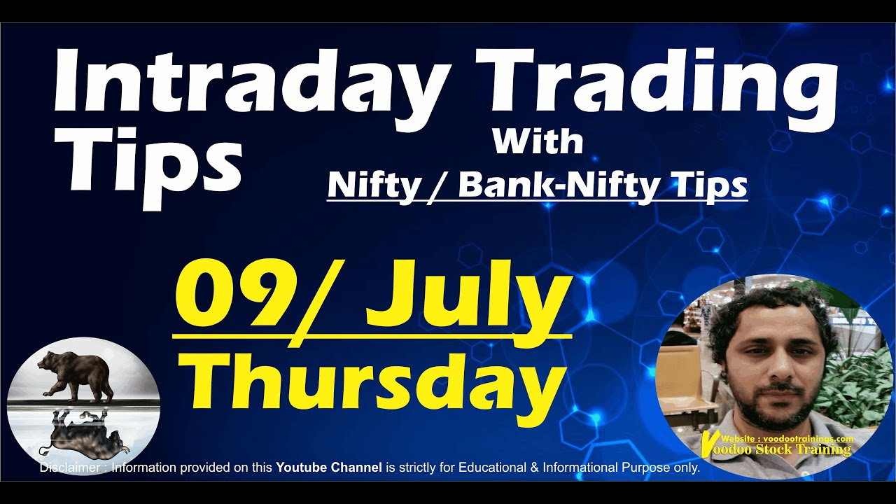 Best Intraday Stocks for 09 July | Free Intraday Live Trading Tips | Nifty & Bank Nifty Tips
