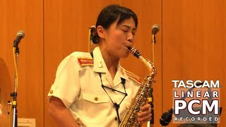Quincy Jones Medley 🎷 - Japanese Army Band